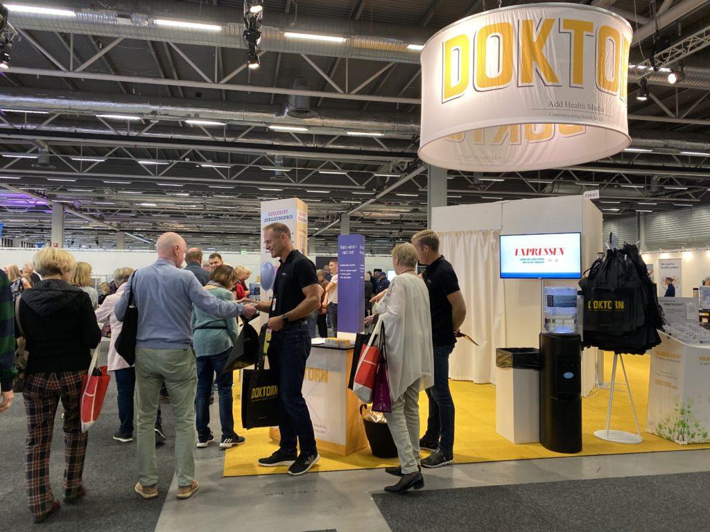Seniormässan Stockholmsmässan 2019 - Alltid lika populära DOKTORN